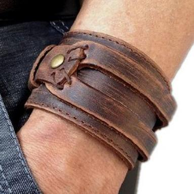 Men's Fashion Leather Bracelet